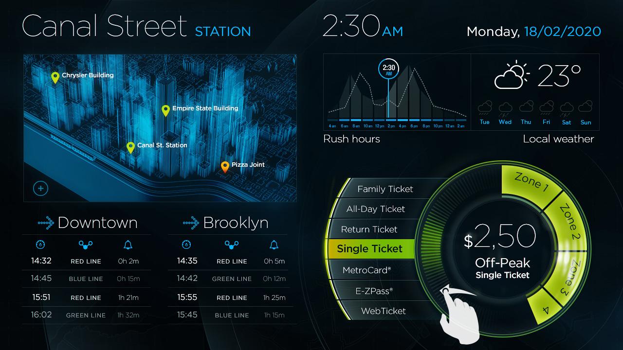 2015 – MTA Interface Design