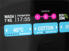 2011 – Washing Machine UI concept