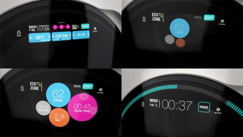 2011 – Washing Machine UI concept
